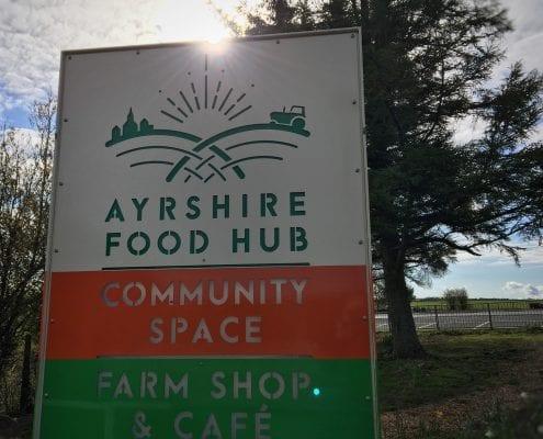 Ayrshire Shop Sign